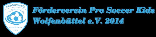 Förderverein Pro Soccer Kids Wolfenbüttel e.V.